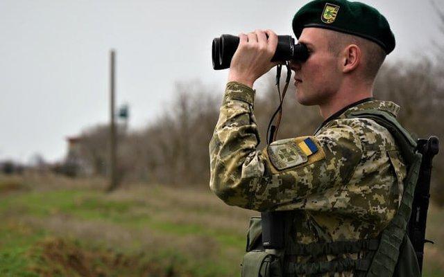 Украинские пограничники продолжают усиленную охрану границы с Беларусью