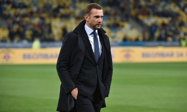 Шевченко объявил состав сборной Украины на октябрьские матчи