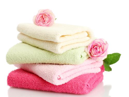 Высококачественные полотенца разных размеров и расцветок