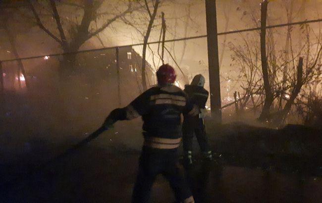 Пожары в Луганской области несут угрозу для 22 населенных пунктов