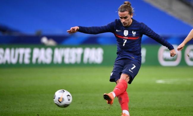 Гризманн превзошёл достижение Зидана в сборной Франции