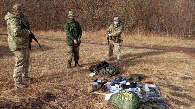 Пограничники в Луганской области задержали россиянина, который попросил убежища в Украине