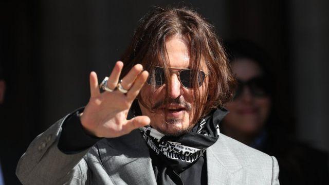 Джонни Депп проиграл суд по делу о клевете