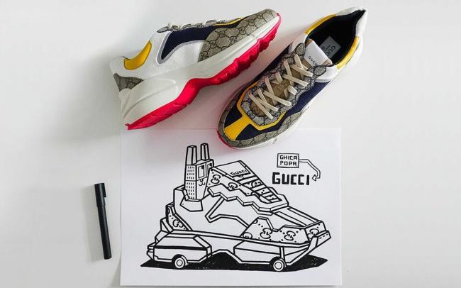 Gucci запустили платформу, где каждый может придумать дизайн виртуальных кроссовок