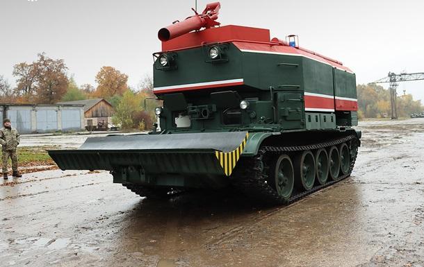ВСУ получили модернизированные пожарные танки