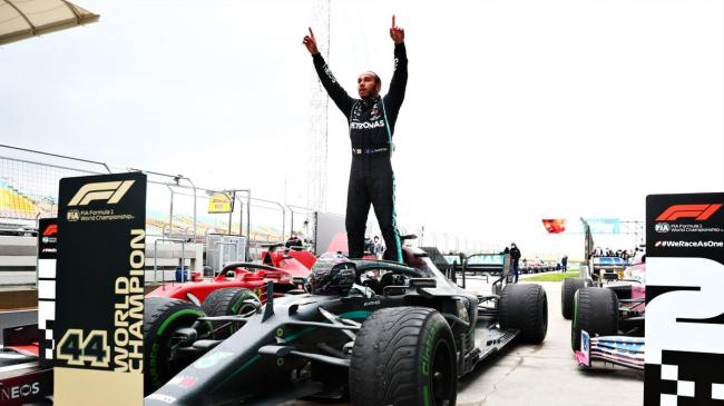 Формула-1: Льюис Хэмилтон повторил рекорд великого Михаэля Шумахера