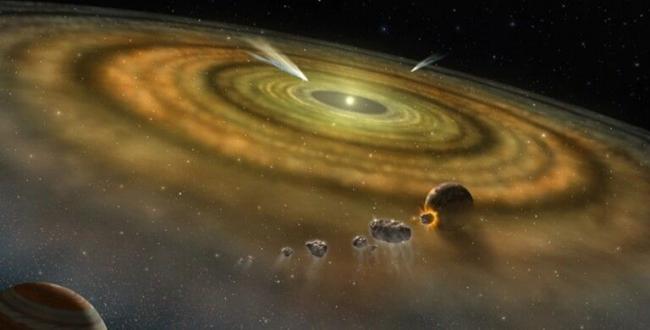 Солнечная система прыгнула от облака пыли к планетам всего за 200 тыс. лет, – ученые