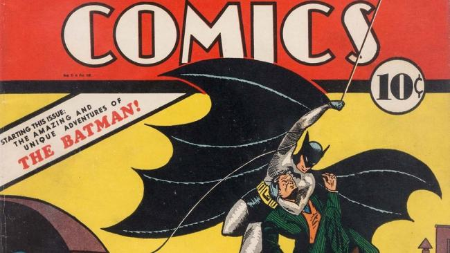 Первый комикс о Бэтмене продали за рекордную сумму