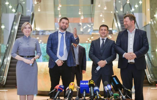 Зеленский и депутаты от Слуги народа обсудят перестановки в Кабинете Министров Украины