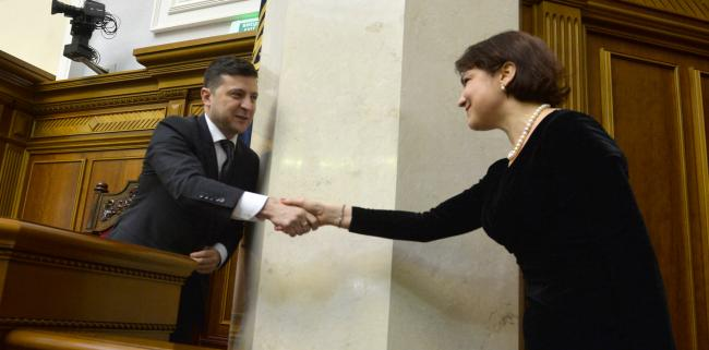 Зеленский видит успехи в работе генерального прокурора Венедиктовой