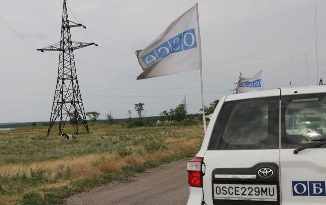 ОБСЕ зафиксировала почти 100 нарушений на Донбассе за сутки