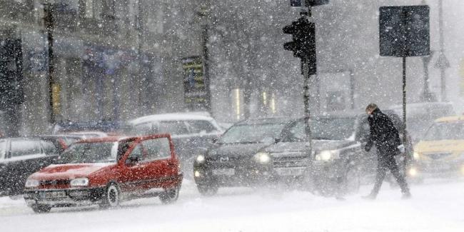 На Украину надвигается циклон со снегопадами, дождями и порывами ветра